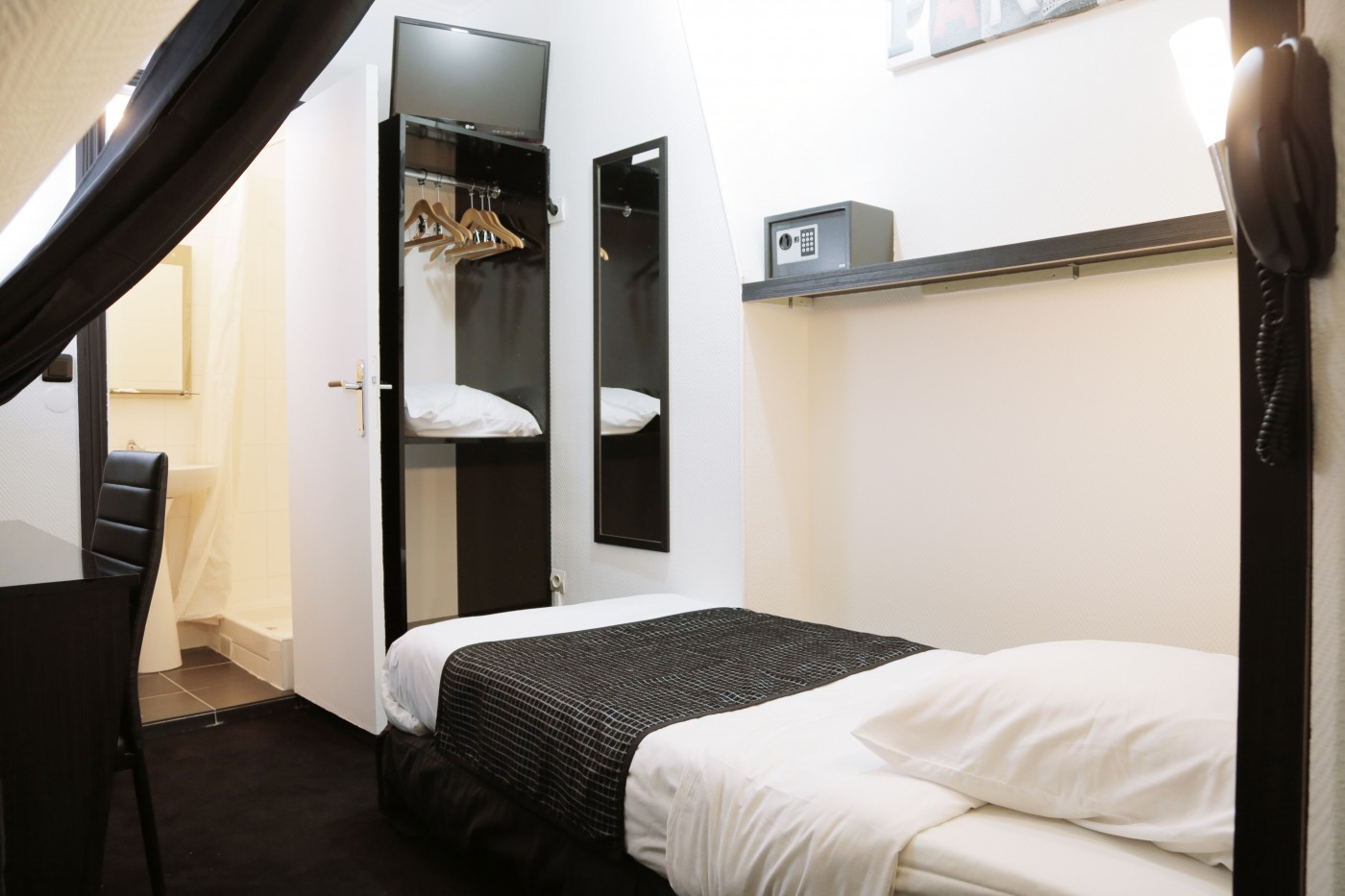 Hotel de l'Exposition Parigi ***, SITO UFFICIALE - Le camere